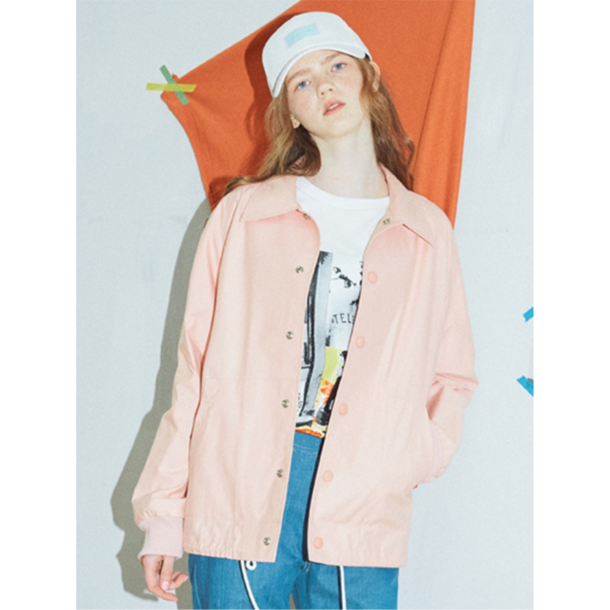 [SER] TABLE COACH JACKET_SR17SSJK001_PK
